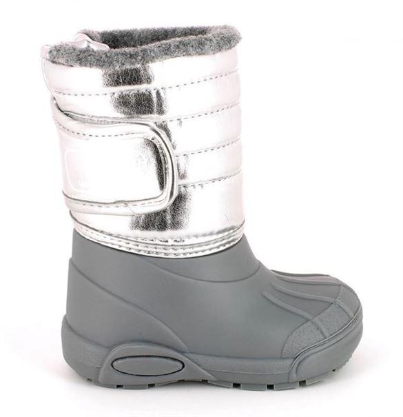 TTY Xiver foret gummistøvle, sølv
